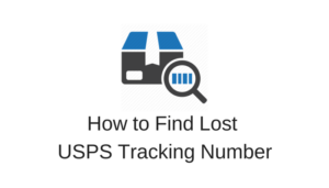 lost tracking number usps